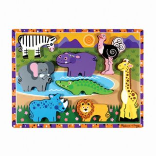 Melissa and Doug Safari Chunky Puzzle