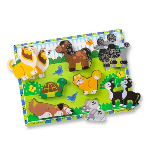 Melissa and Doug Pets Chunky Puzzle