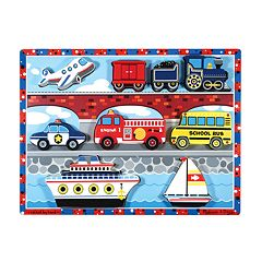Melissa & Doug Vehicles Chunky Puzzle