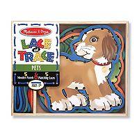 Melissa & Doug Lace & Trace Pets Set
