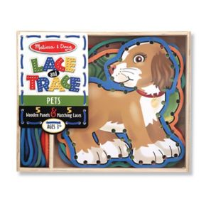 Melissa and Doug Lace and Trace Pets Set