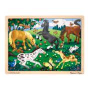 Melissa & Doug 48-pc. Frolicking Horses Jigsaw Puzzle