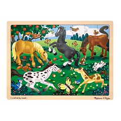 Melissa & Doug 48 pc Frolicking Horses Jigsaw Puzzle