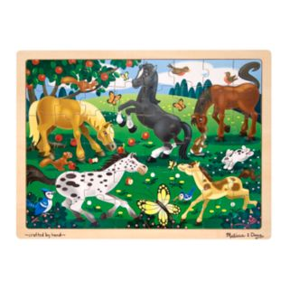 Melissa and Doug 48-pc. Frolicking Horses Jigsaw Puzzle
