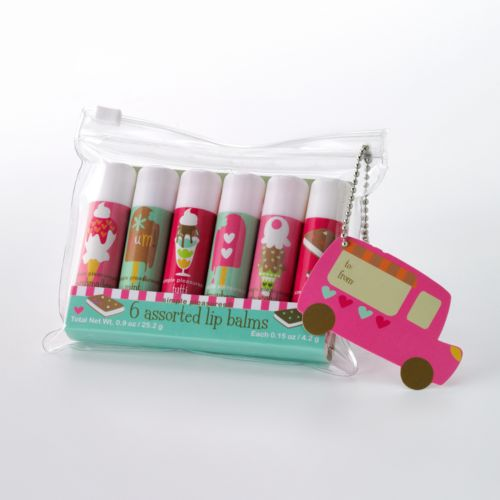 Ice Cream Lip Balm Gift Set