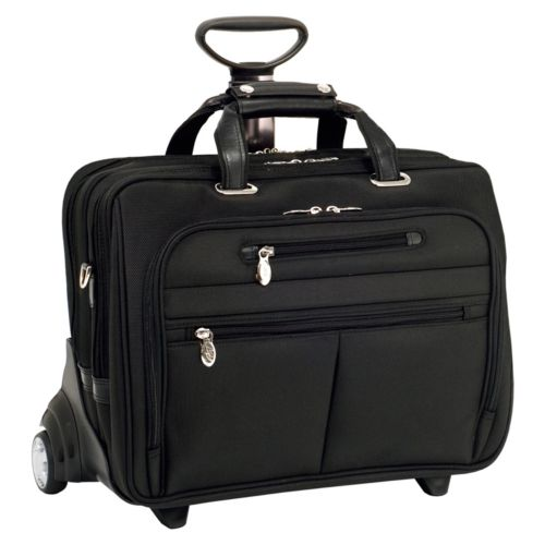 McKlein OHare 17-in. Detachable-Wheel Laptop Case