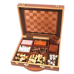 Six-in-One Attache Game Compendium by University Games by