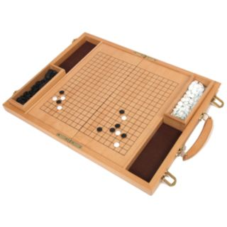 Deluxe 15-in. Wood Go Game Set by University Games