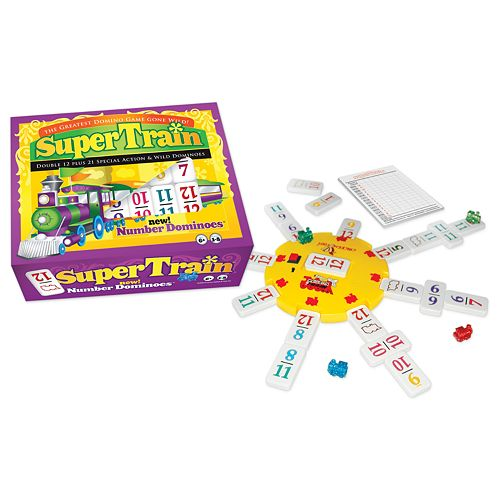 Super Train™ Dominoes Game by University Games