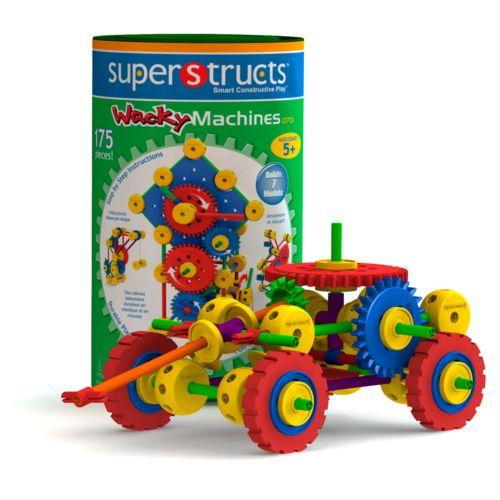 Superstructs Wacky Machines Set