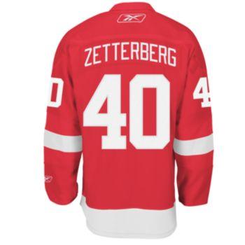 Reebok EDGE Premier Detroit Red Wings Henrik Zetterberg Jersey