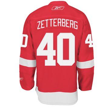 Reebok® EDGE Premier Detroit Red Wings Henrik Zetterberg Jersey