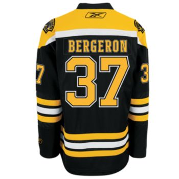 Reebok EDGE Premier Boston Bruins Patrice Bergeron Jersey