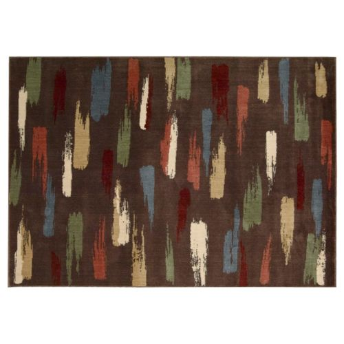 """Nourison Expressions Abstract Rug Runner – 27"""" x 96"""""""