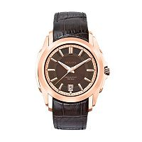 Bulova Men's Precisionist Leather Watch - 97B110
