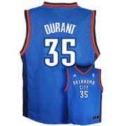 adidas Oklahoma City Thunder Kevin Durant NBA Jersey - Boys 8-20