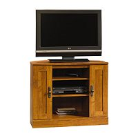 Sauder Harvest Mill Corner TV Stand