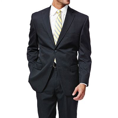 Haggar Slim-Fit Shadow Striped Suit Jacket