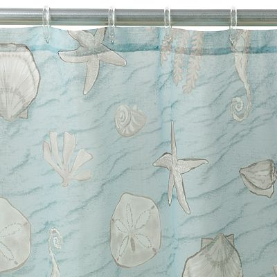 SONOMA life + style Coastal Fabric Shower Curtain