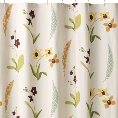 SONOMA life + style Orchid Shower Curtain