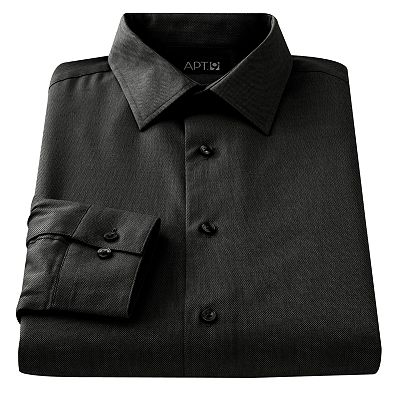 Apt. 9 Slim-Fit Spread-Collar Dress Shirt