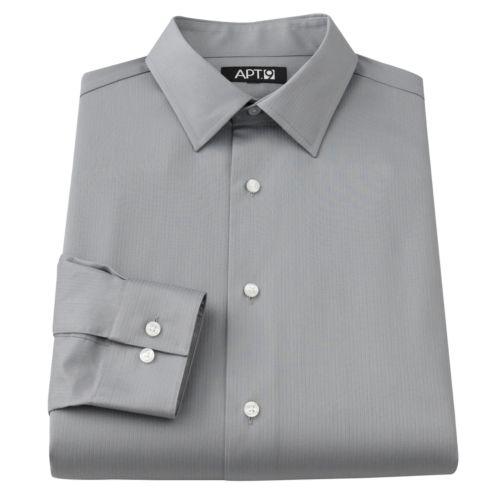 Apt. 9® Slim-Fit Spread-Collar Dress Shirt