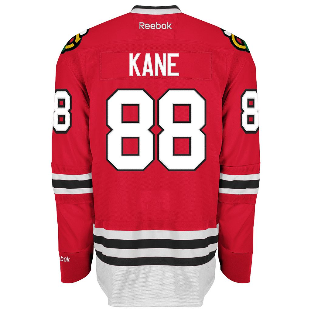 Reebok EDGE Premier Chicago Blackhawks Patrick Kane Jersey