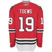 Reebok® EDGE Premier Chicago Blackhawks Jonathan Toews Jersey
