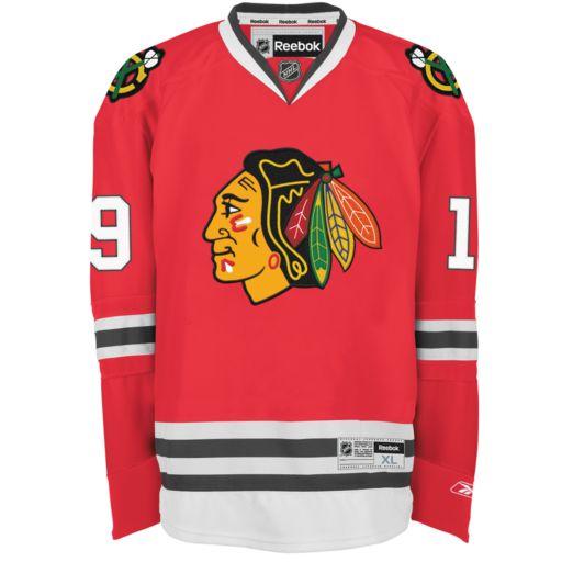 Reebok EDGE Premier Chicago Blackhawks Jonathan Toews Jersey