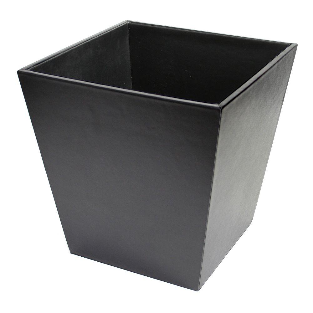 Royce Leather Executive Wastebasket
