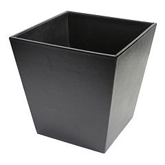 Royce Leather Executive Wastebasket