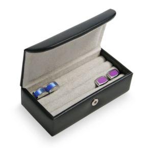 Royce Leather Mini Cufflink Box
