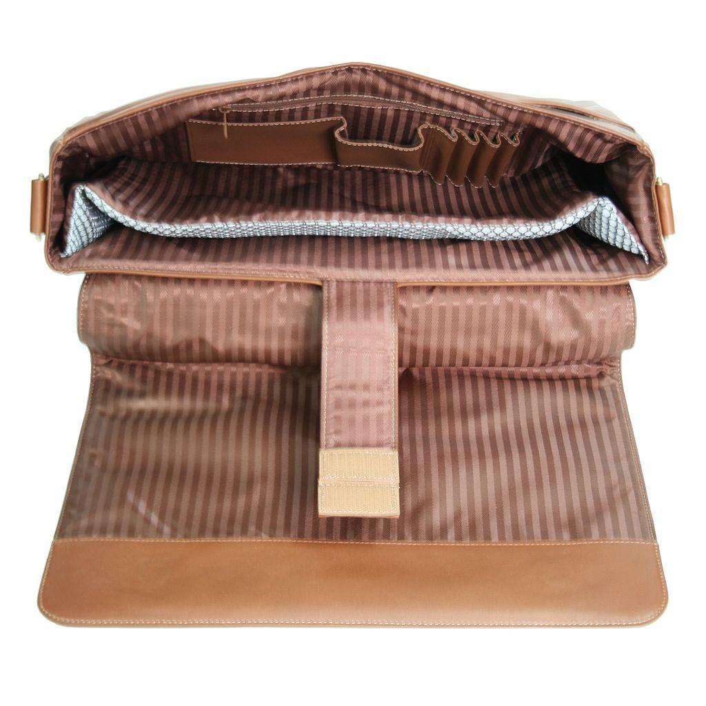 Royce Leather Laptop Messenger Bag