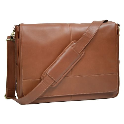 6c3a8cbb773 Royce Leather Laptop Messenger Bag