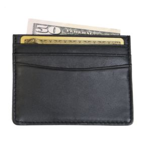 Royce Leather Mini ID & Credit Card Holder