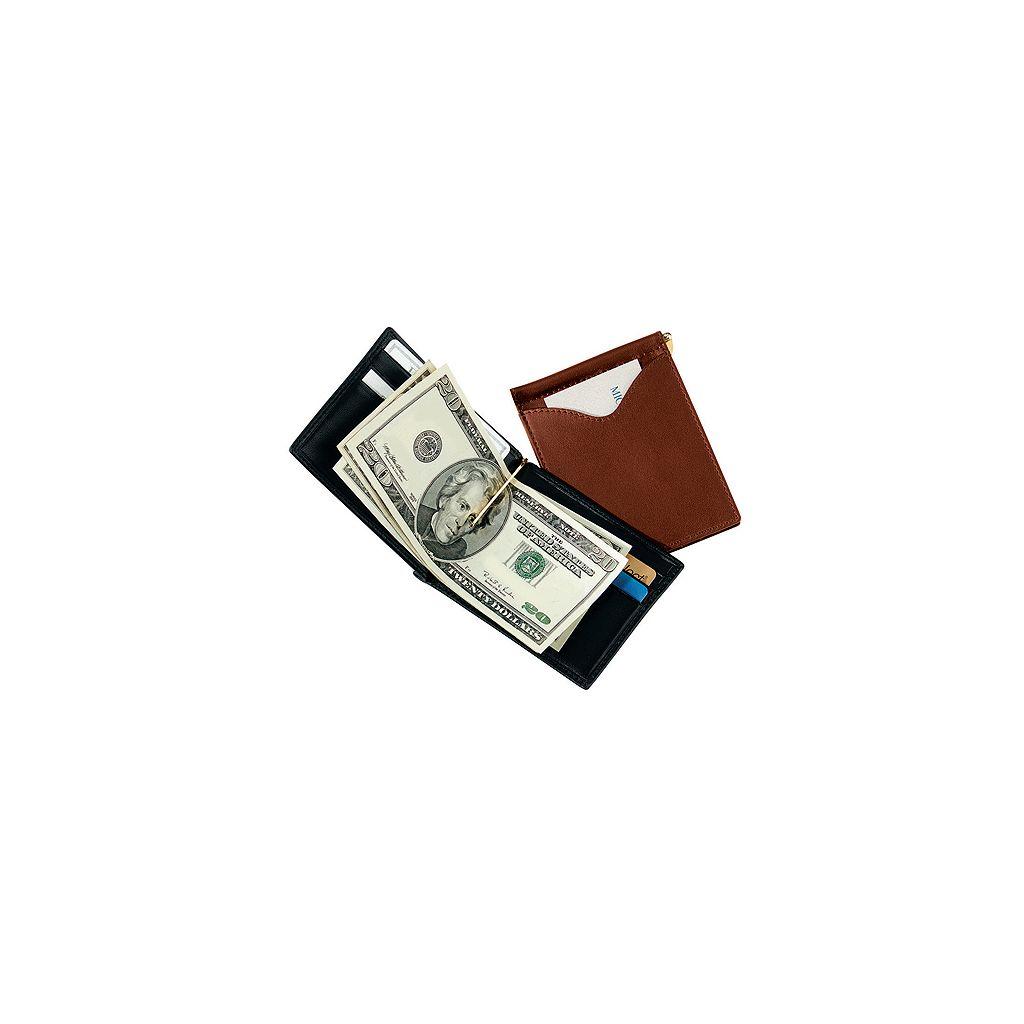 Royce Leather Cash Clip Wallet