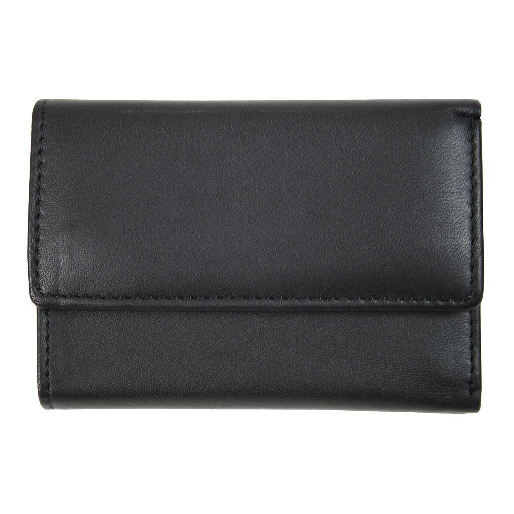 Royce Leather Key Chain Wallet