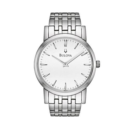 Bulova Stainless Steel Watch - Men