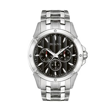 Bulova Stainless Steel Watch - 96C107 - Men