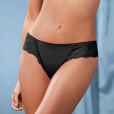 Maidenform Lace-Trim Tanga