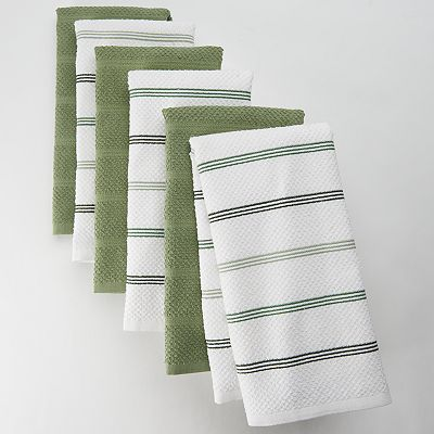 The Big One 6-pk. Striped Kitchen Towels