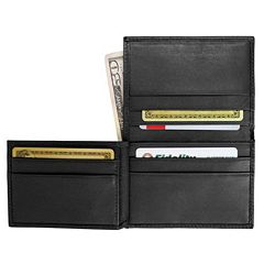 Royce Leather Bifold Wallet