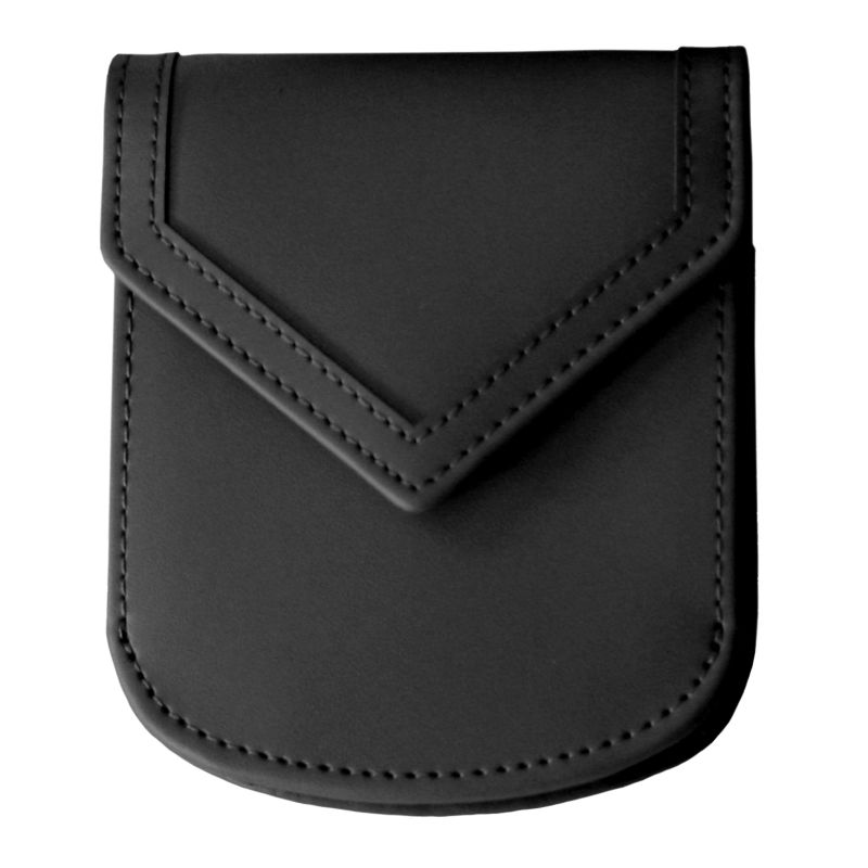 Royce Leather City Wallet, Women's, Black