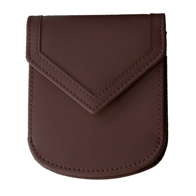 Royce Leather City Wallet, Women's, Brown
