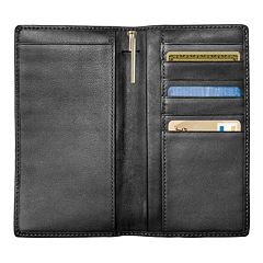 Royce Leather Checkbook Wallet