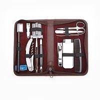 Royce Leather Travel & Grooming Kit