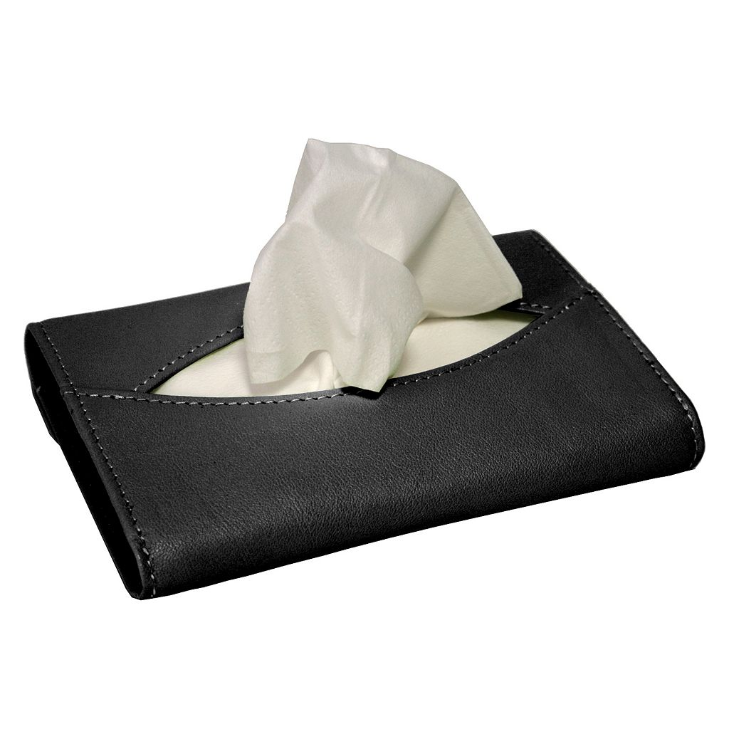 Royce Leather Mini Tissue Holder
