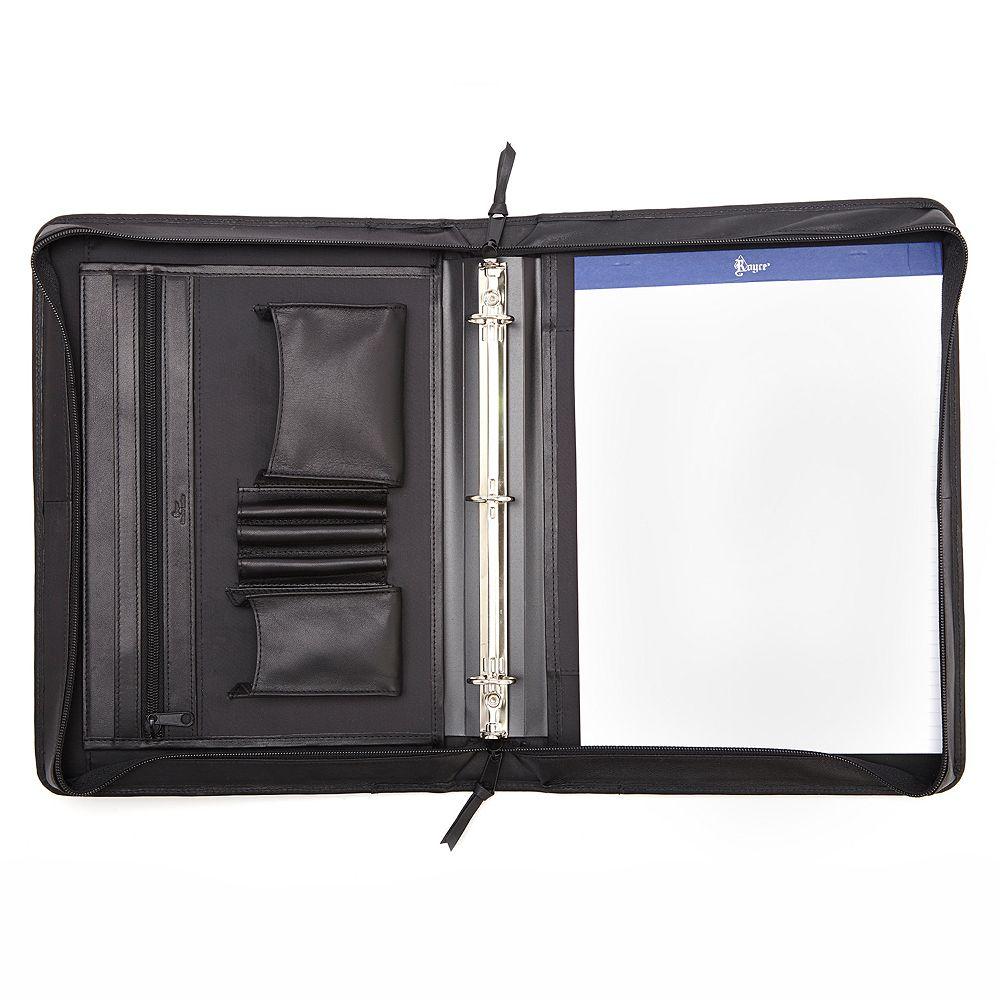Royce Leather Deluxe Convertible Binder Padfolio