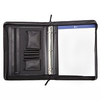 Royce Leather Deluxe Convertible Binder Padfolio