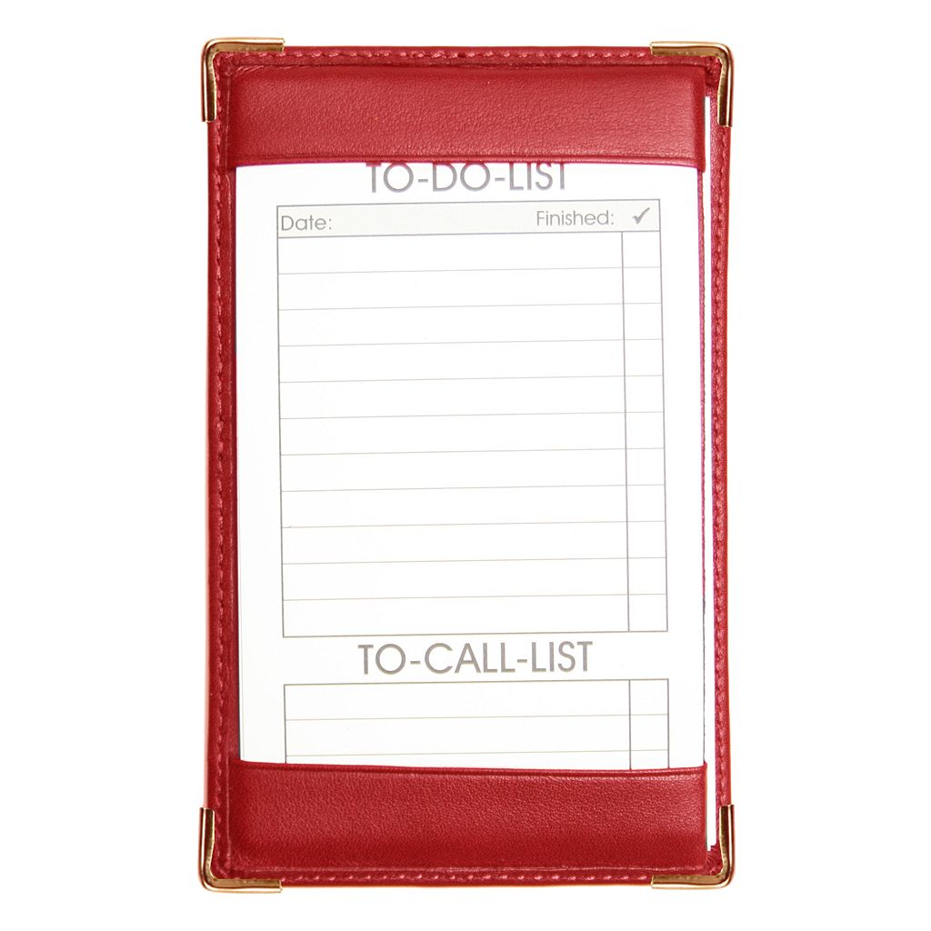 Royce Leather Deluxe Pocket Jotter